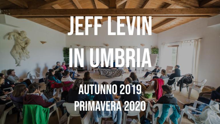 Jeff Levin in Umbria